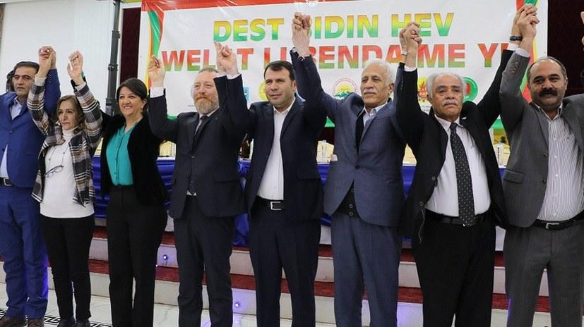 Kurdische Parteien treten als Bündnis zur Kommunalwahl an