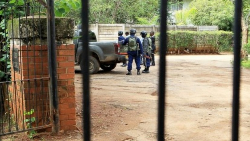 Massenproteste in Simbabwe