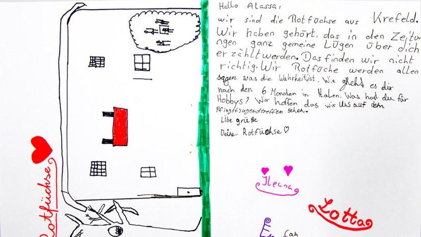"""Rotfüchse zu Alassa M.: """"Wir informieren alle unsere Freunde"""""""