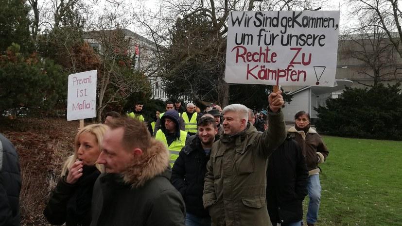 """TWB-Protest: """"Wir melden uns lautstark zu Wort"""""""