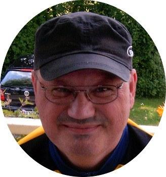 Rupert Seth, seit fast 15 Jahren Sprecher und Moderator der Montagsdemo Recklinghausen
