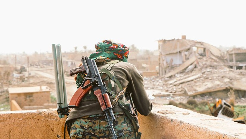 SDF-Operation in al-Bagouz läuft wieder an