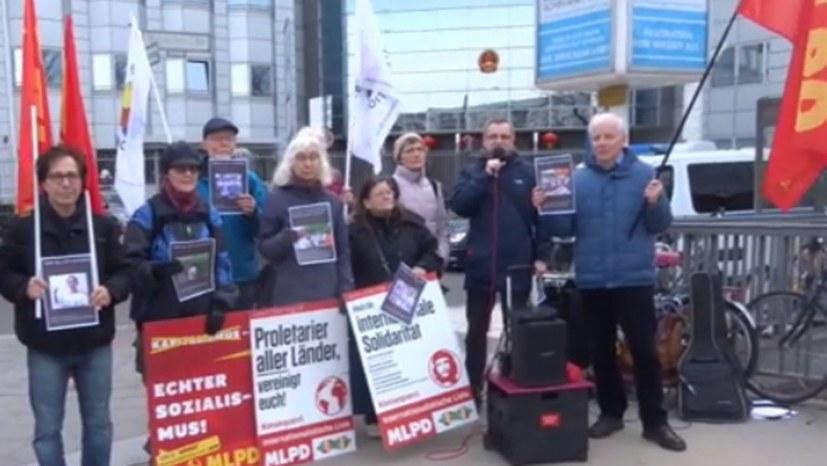 Solidaritätsbotschaft an die Jasic-Belegschaft