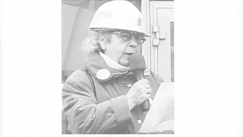 Wenn eine Bergarbeiterfrau auf Montagsdemonstrationen Tacheles redet …