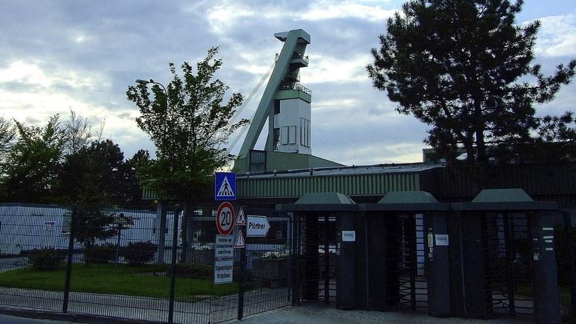 Erste Betriebsversammlung auf Prosper nach der Beendigung der Steinkohleförderung