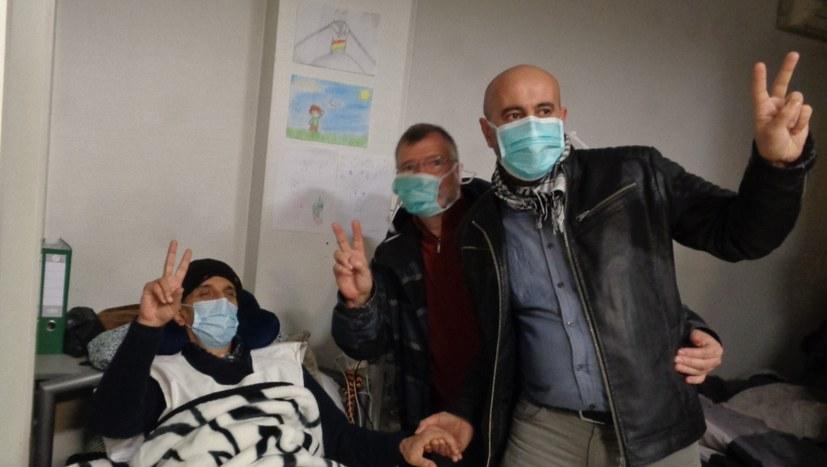 MLPD besucht kurdische Hungerstreikende
