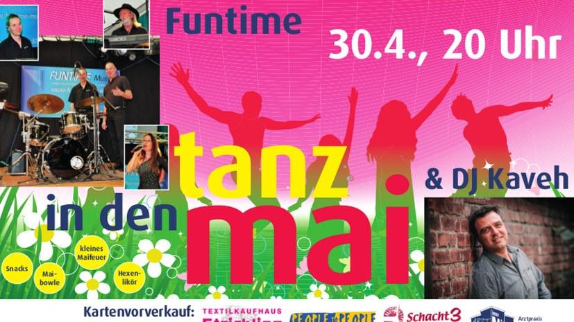 """Am 30. April 2019 """"Tanz in den Mai"""" - Jetzt auch mit Flyer"""