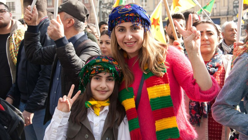"""Mitglieder des Shammar-Stammes: """"Wir sind stolz auf SDF"""""""