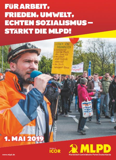 Mai-Aufruf der MLPD