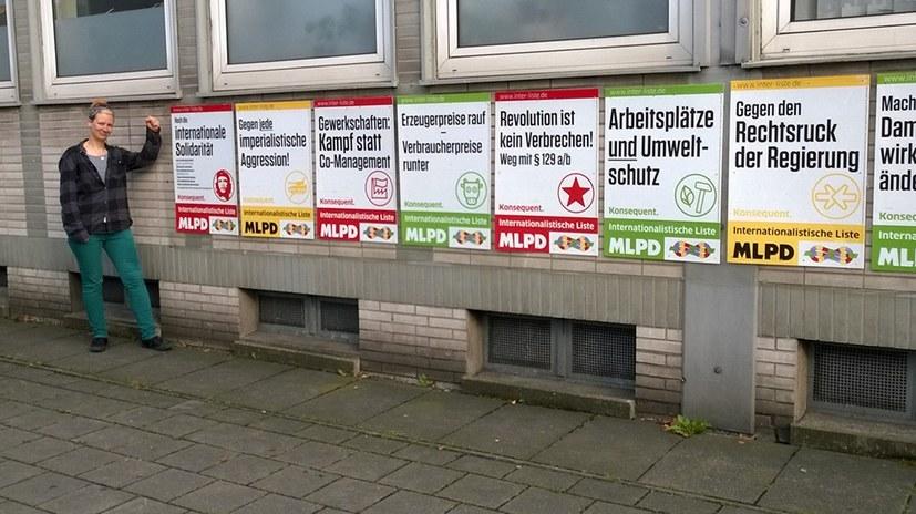 Unterschiedliche Listennummern zur Europawahl