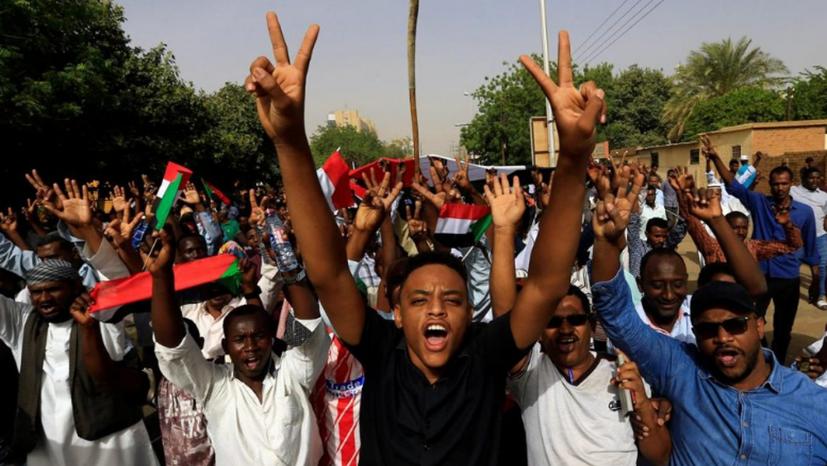 Der Kampf für Freiheit und Demokratie breitet sich in Afrika aus