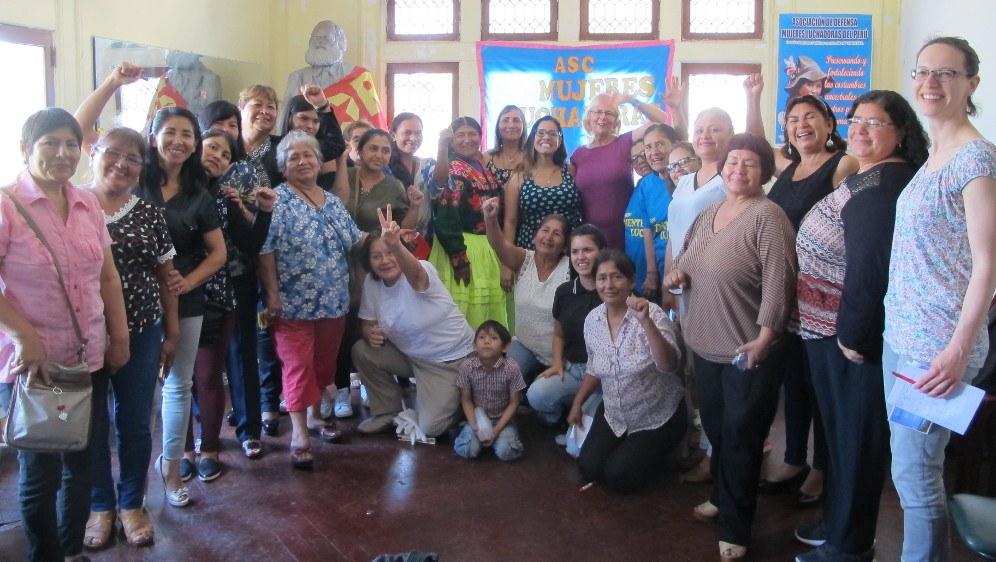Peru: Erstes nationales Vorbereitungskomitee für die Weltfrauenkonferenz entsteht