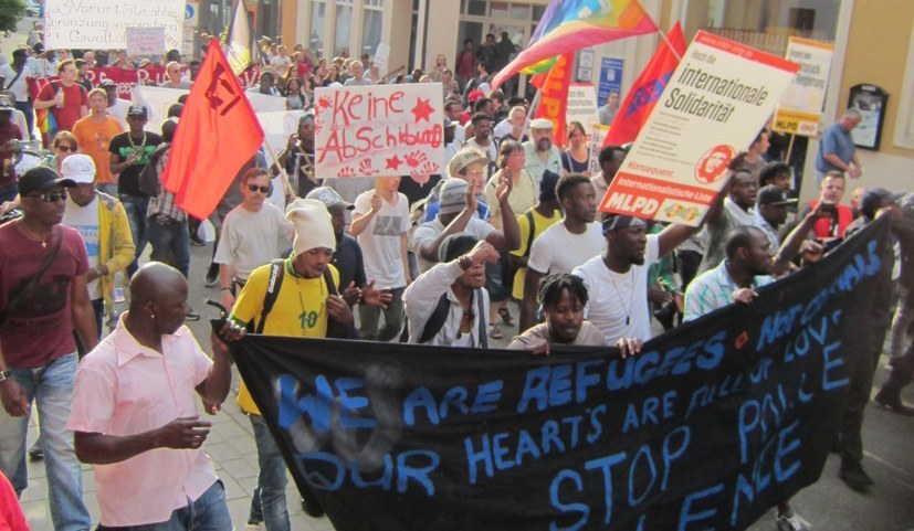 Vor einem Jahr: Martialischer Polizeieinsatz in Ellwangen