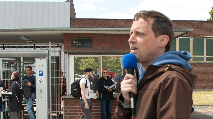 Wahlkundgebung mit Peter Weispfenning