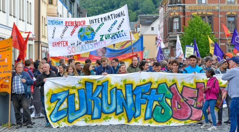 Pfingstjugendtreffen erstmals in Thüringen gestartet - rebellisch, internationalistisch, kulturvoll