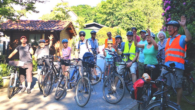 Radtour auf den Spuren von Willi Dickhut
