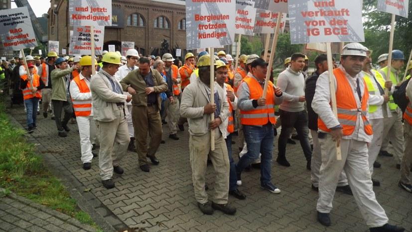 Nur noch einen Tag bis zur Bergarbeiterdemonstration in Bottrop