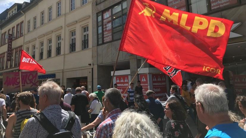 Demo gegen Mieterhöhungen und Wohnungsräumungen