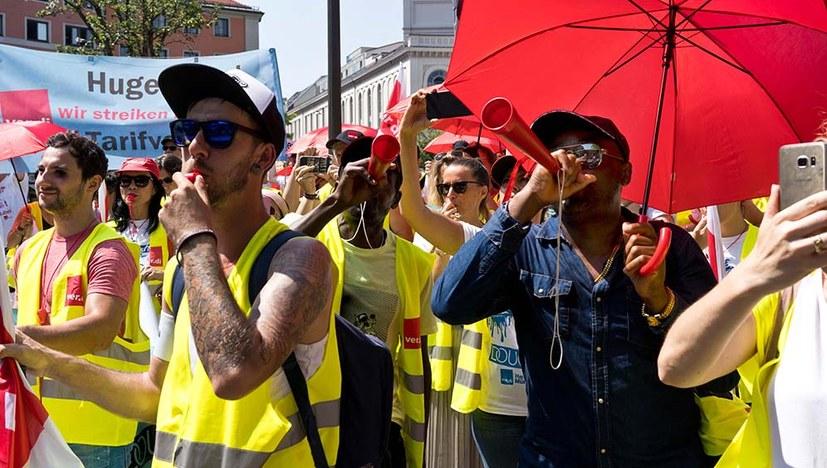 Protestkundgebung in München