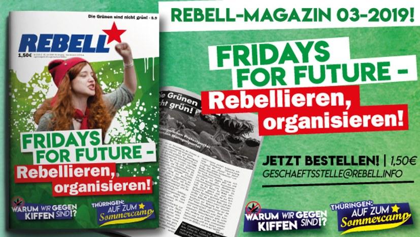 """Neues """"Rebell""""-Magazin erschienen"""