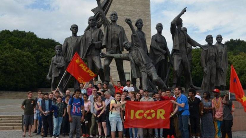 Gedenkveranstaltung für Ernst Thälmann und Wahlkampfauftakt der Internationalistischen Liste MLPD