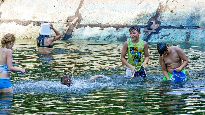 Kanu-Tour auf dem Sommercamp des REBELL