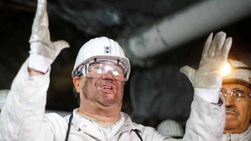 Echte Bergleute und echte Politiker