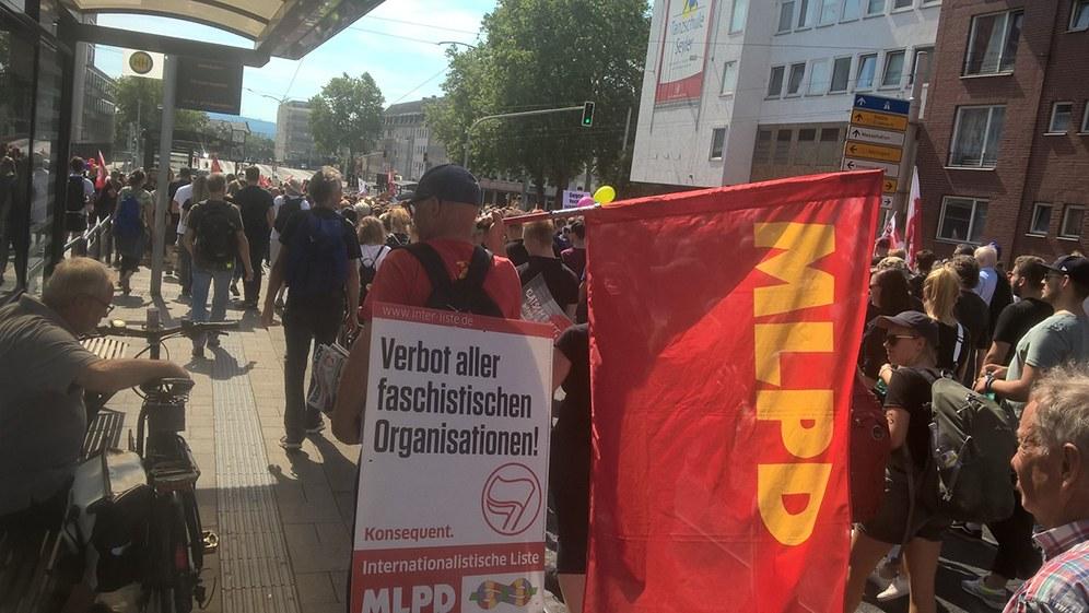 Faschisten bekamen in Kassel keinen Fußbreit!