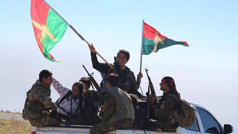 Gemeinsame Anti-IS-Offensive von YBŞ und irakischer Armee
