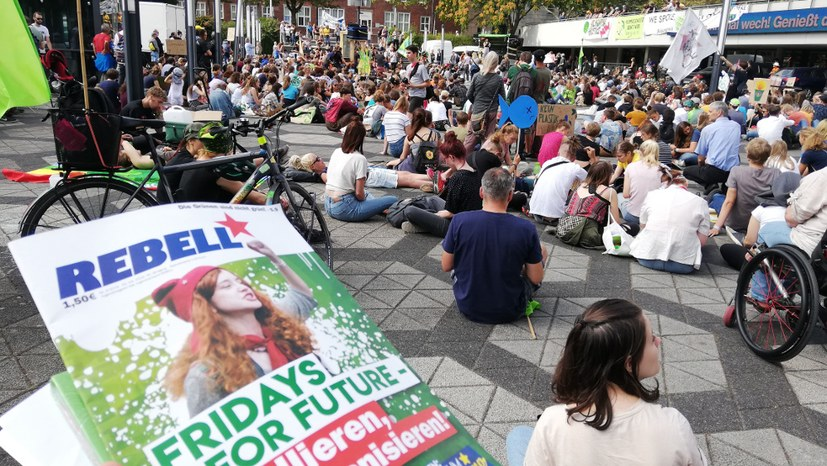 Sommerkongress von Fridays for Future im vollen Gange