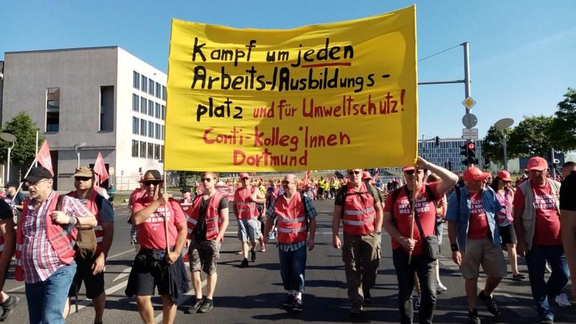 Jugendumweltbewegung und Arbeiterbewegung Hand in Hand