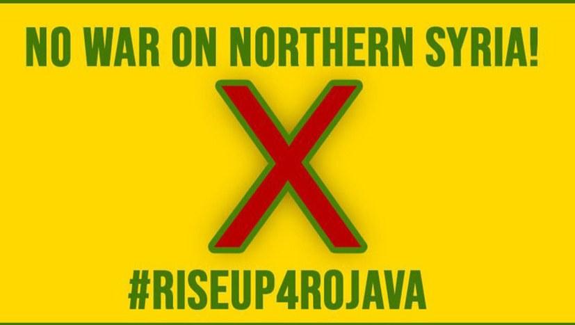 #Riseup4Rojava - Vorbereitungen für Tag X in vielen Städten