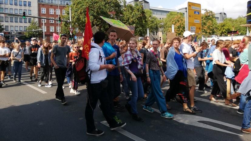 """Sommerkongress-Demo: """"Wie das gehen kann, das interessiert mich"""""""