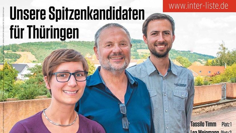 Wahlkampfauftakt in Erfurt: Wahlplakate, T-Shirt-Bestellung und Anfahrtsbeschreibung