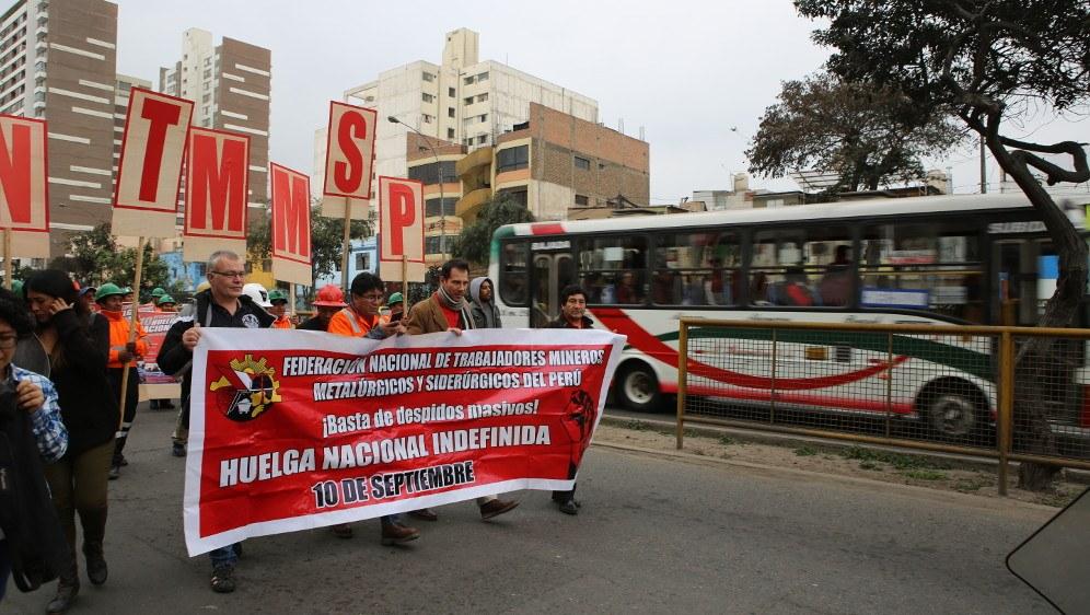 Unbefristeter Generalstreik der Bergleute erfolgreich gestartet