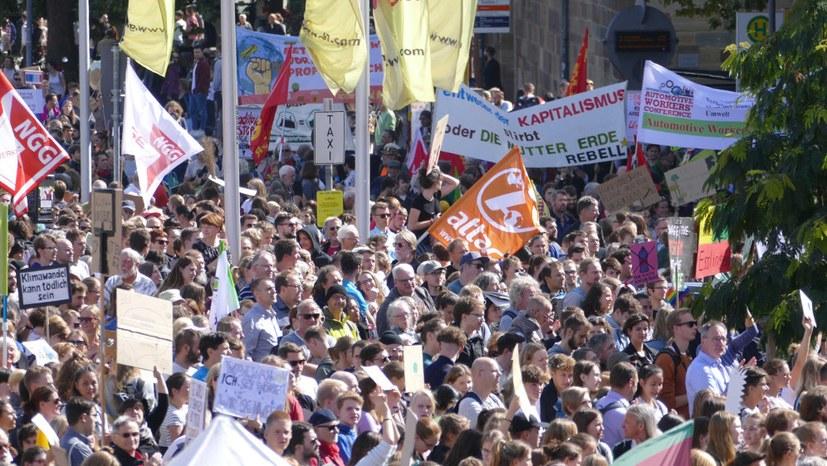30.000 bei Klimastreik-Demo