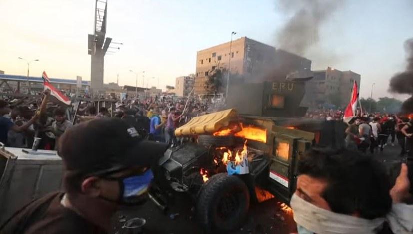 Aufruhr im Irak
