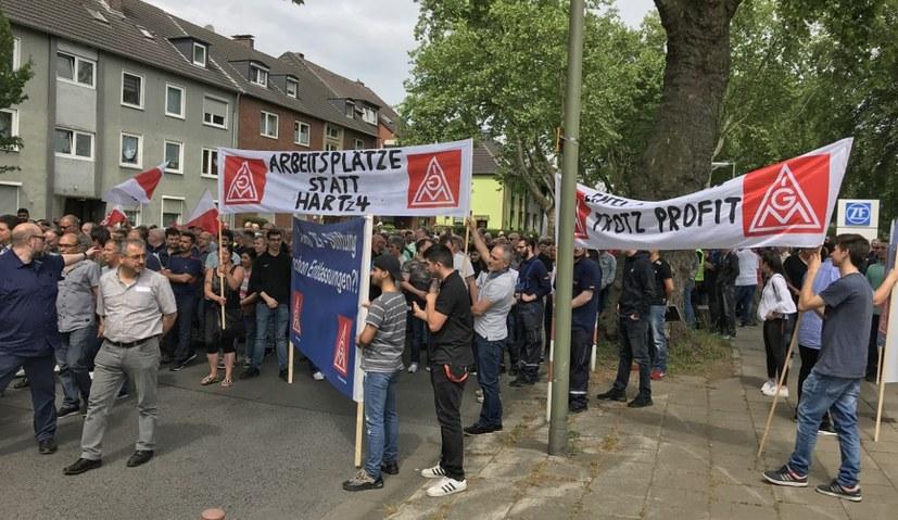 Konzernweiter Protest bei ZF
