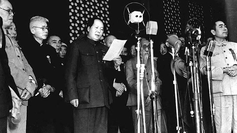 Vor 70 Jahren Volksrepublik China gegründet - große Hoffnung für die Menschheit