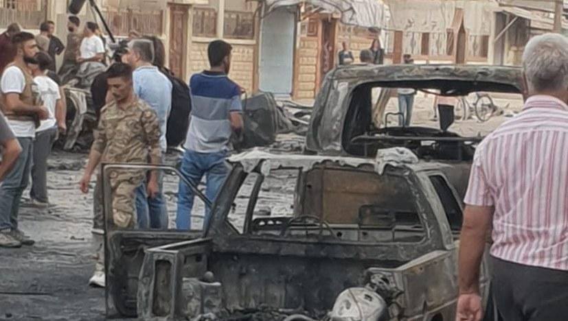 IS-Autobombenanschlag in Qamischli