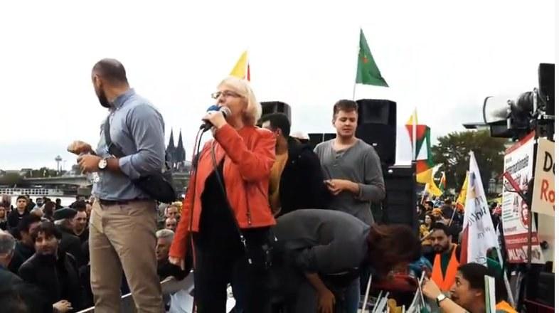 Video: NRW-weite Rojava-Demo am 12.10. in Köln