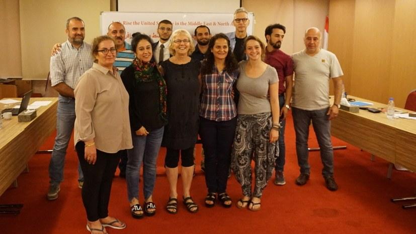 Intensive Beratungen bei ICOR-Konferenz Naher und Mittlerer Osten