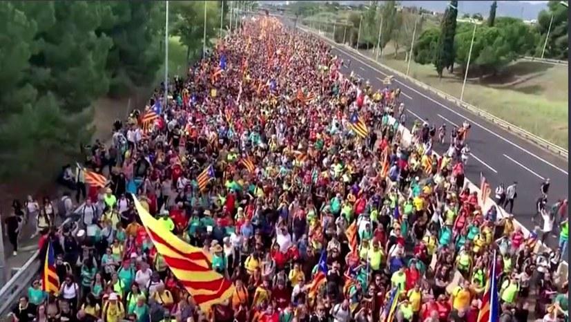 Massenproteste gegen drakonische Repression der Unabhängigkeitsbewegung