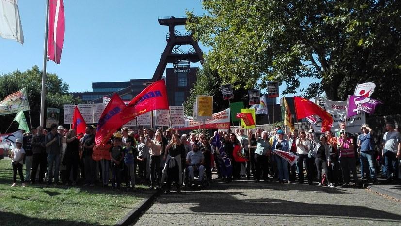Kommt alle zur Demonstration gegen die Politik der verbrannten Erde durch die RAG!