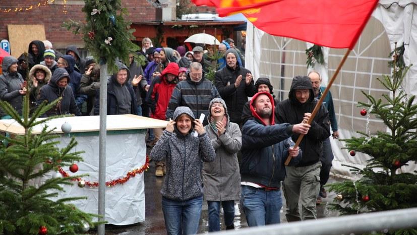 Hurra: Das Bistro der Horster Mitte darf wieder genutzt werden!
