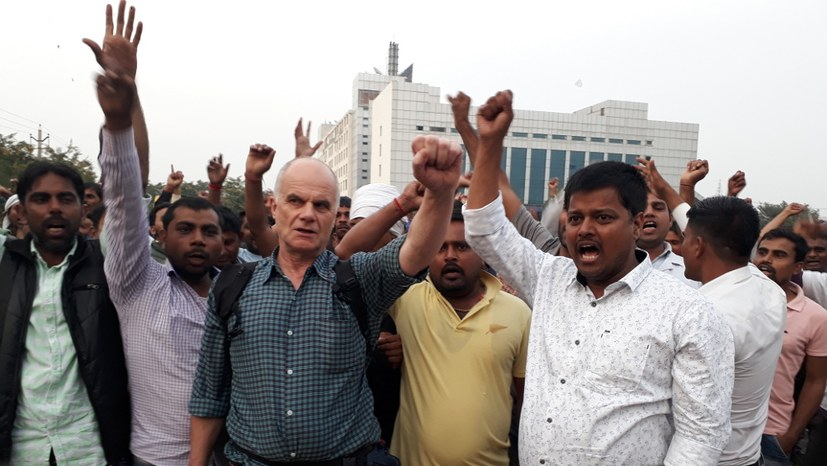 Streik bei Honda in Manesar