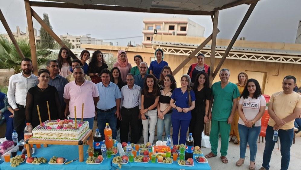 Helft mit beim Ausbau des ICOR-Gesundheitszentrums in Kobane!