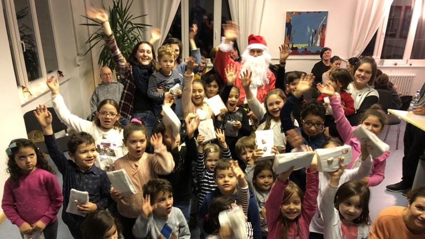 Nikolausfest mit vielen neuen Kindern