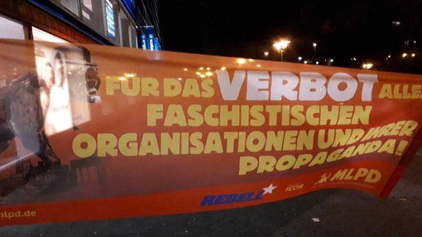 Faschistische Umtriebe in Steele und am Kurfürstenplatz