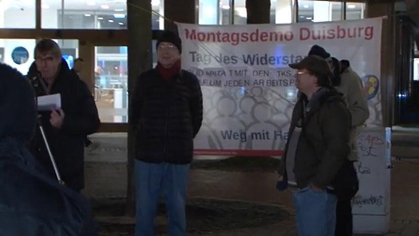 Montagsdemo kritisiert Fahrpläne